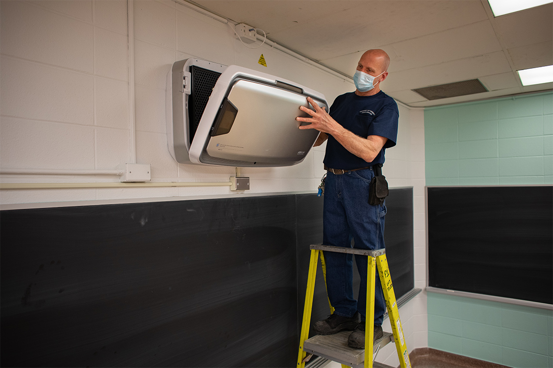 U of T assesses, upgrades classroom ventilation as it plans for in-person learning this fall