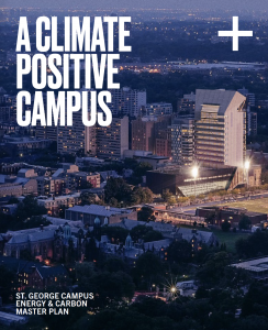Cover image of the U of T Climate Positive Campus Plan